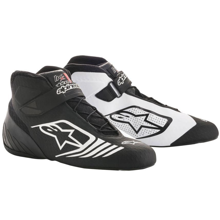 ☆【Alpinestars】Tech 1-KXカート ブーツ  ブラック/ホワイト