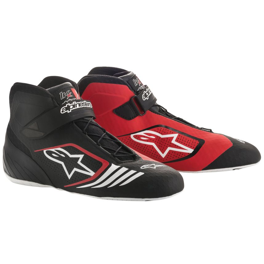 ☆【Alpinestars】Tech 1-KXカート ブーツ  ブラック/レッド/ホワイト