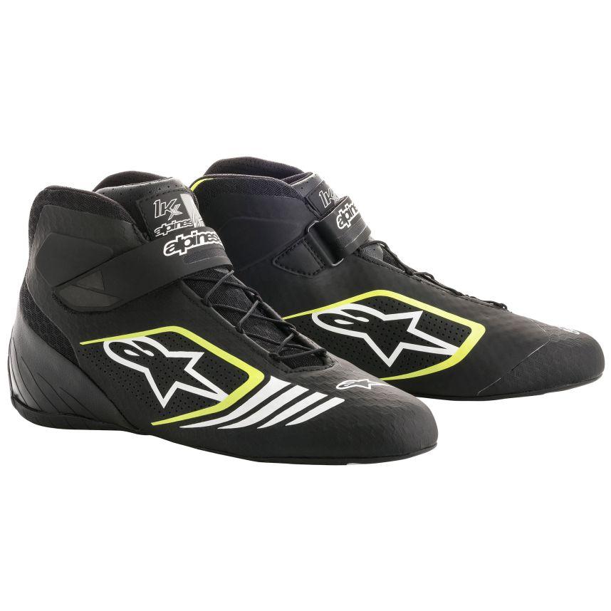 ☆【Alpinestars】Tech 1-KXカート ブーツ  ブラック/フルロイエロー