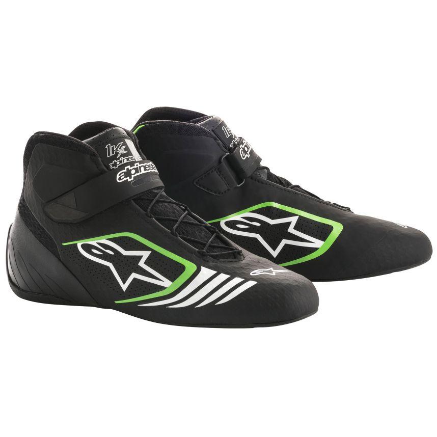 ☆【Alpinestars】Tech 1-KXカート ブーツ  ブラック/フルログリーン