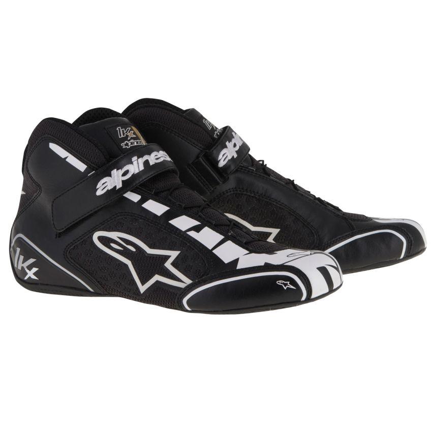 ☆【Alpinestars】Tech 1-KXカート ブーツ  ブラック/シルバー/ホワイト UK 7 / Eur 40.5