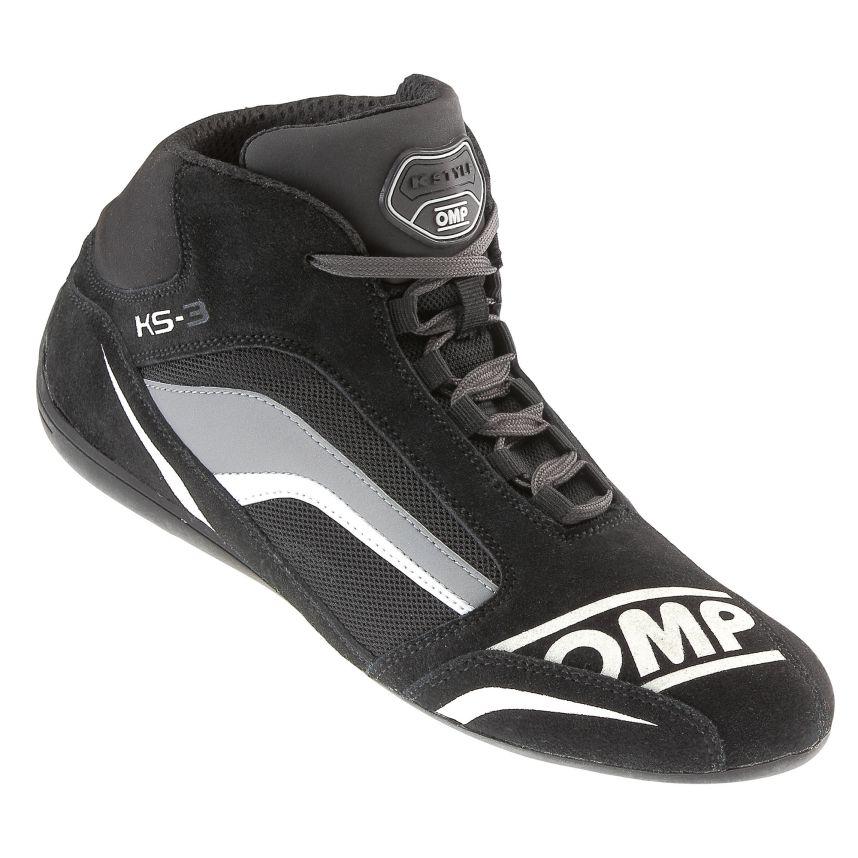 ☆【OMP】KS-3カート ブーツ  黒/Anthracite(グレー) UK 3.5 / Eur 36