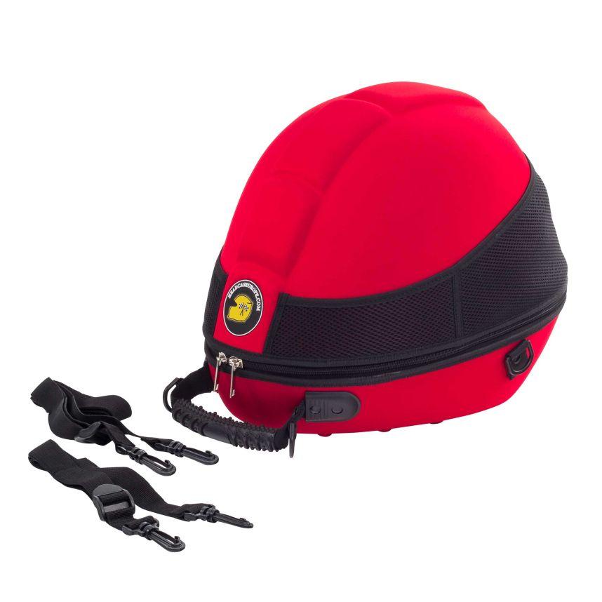 ☆【Headcase】ヘルメットキャリーケース 赤