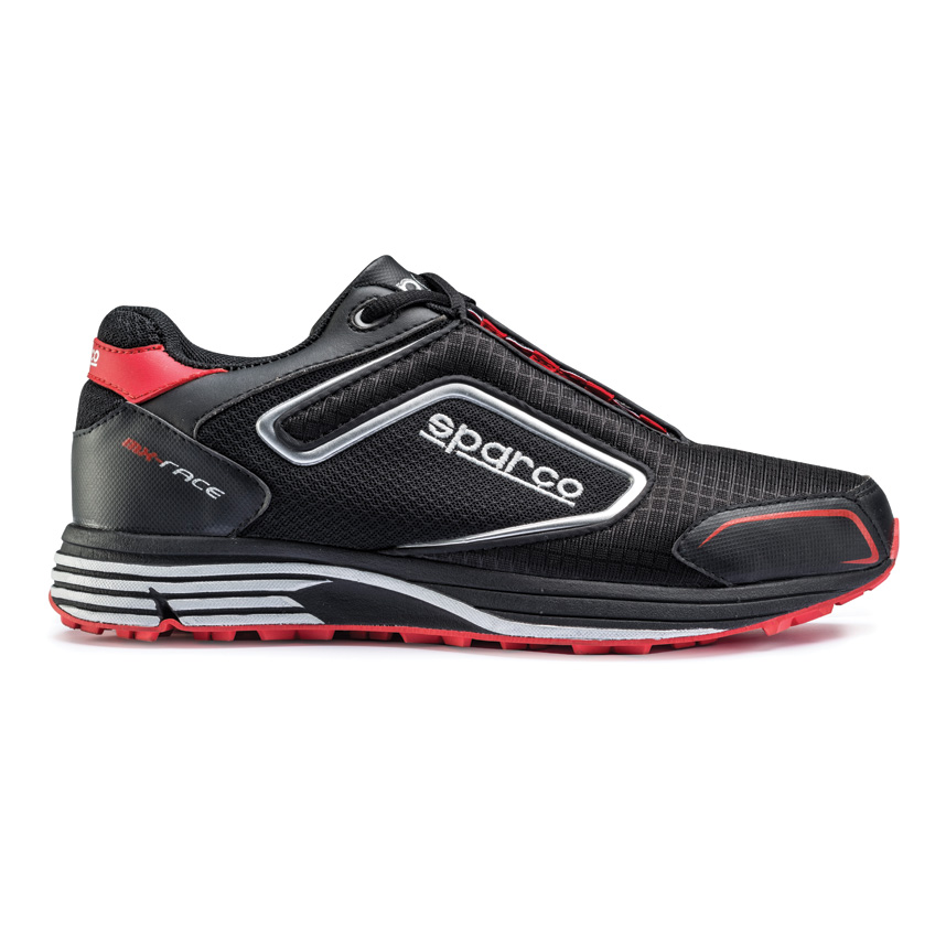 【返品交換不可】 ☆ 5.5【Sparco】MX-Race UK Mechanics Shoe ブラック/レッド UK 5.5// Eur 39, アカイケマチ:e3770306 --- fencepanelgrips.co.uk