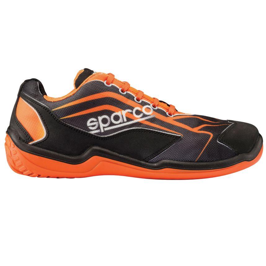 ☆【Sparco】ツーリングL シューズ  ブラック/オレンジ UK 5.5 / Eur 39