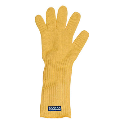 ☆【Sparco】火炎耐熱力学グローブイエロー。 ワンサイズ SPARCO FLAME HEAT RESISTANT MECHANICS GLOVE Yellow. One Size