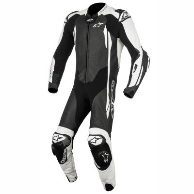 ☆【Alpinestars】Alpinestars GP Tech V2 1 Piece Leather Motorcycle Suit - Tech Air Bag Compatible Black / White | UK 42 / Eur 52