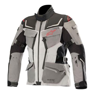 ☆【Alpinestars】Alpinestars Revenant Gore-Tex Textile Motorcycle Jacket - Tech Air Compatible Black / Mid Grey / Anthracite / Red | 4XL