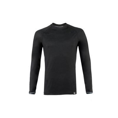 ☆【Knox】Knox Dry Inside Jacob Sport Long Sleeve Base Layer Top - Black L