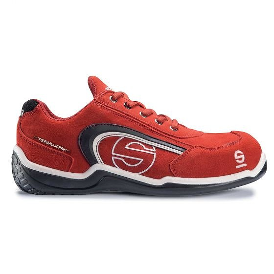 ☆【Sparco】スポーツLレジャーウェアシューズ Red|UK 6.5/Eur 40