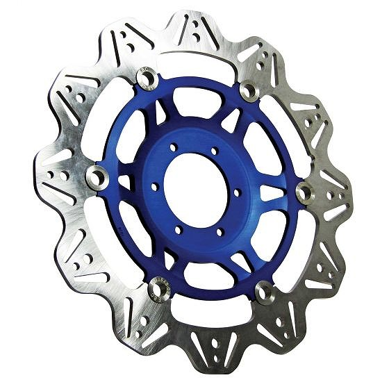 ☆【EBC】ブレーキビーシリーズブルーハブオートバイブレーキディスク-VR669BLU