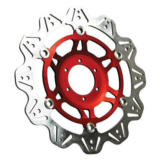 ☆【EBC】ブレーキビーシリーズレッドハブオートバイブレーキディスク-VR629RED