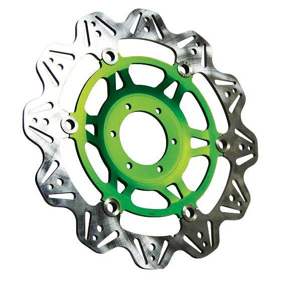 ☆【EBC】ブレーキビーシリーズグリーンハブオートバイブレーキディスク-VR4154GRN