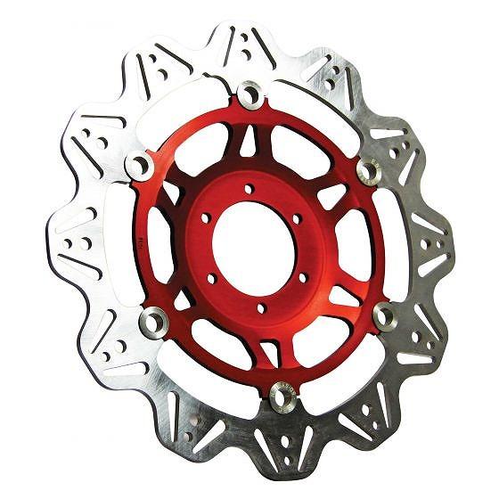 ☆【EBC】ブレーキビーシリーズレッドハブオートバイブレーキディスク-VR2101RED