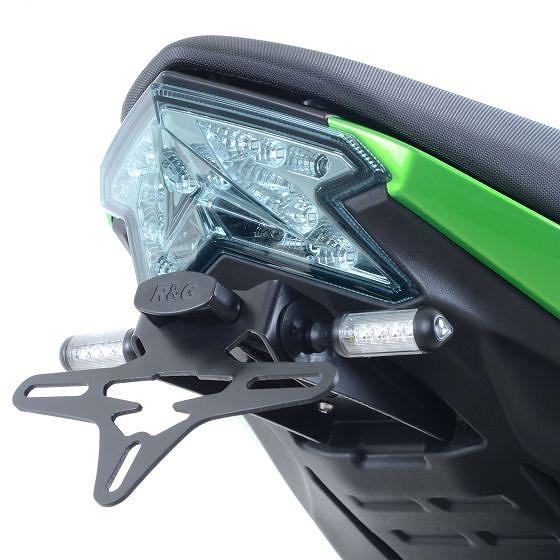 ☆【R&G】オートバイテールティディー/ライセンスプレートホルダー-LP0209BK