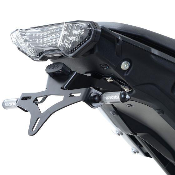 ☆【R&G】オートバイテールティディー/ライセンスプレートホルダー-LP0208BK
