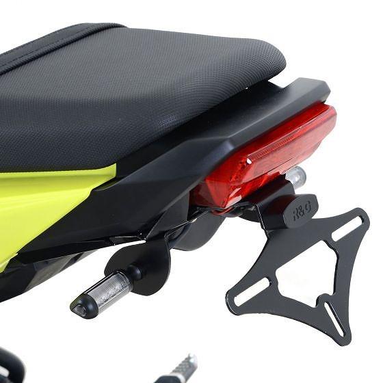 ☆【R&G】オートバイテールティディー/ライセンスプレートホルダー-LP0207BK