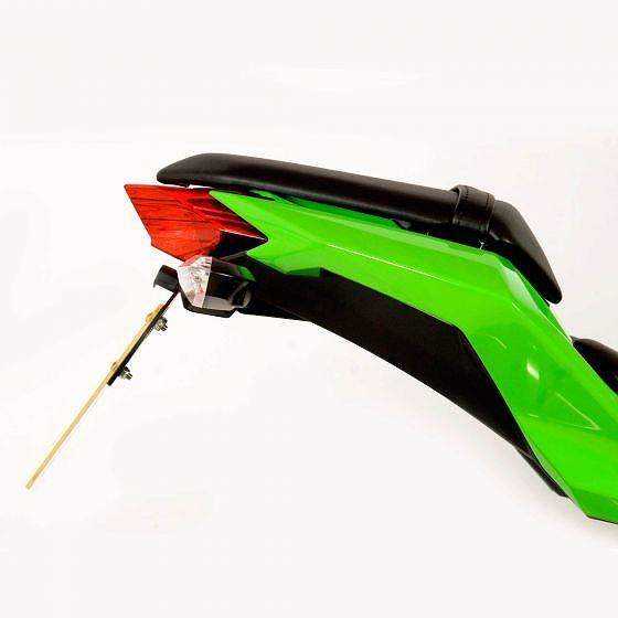 ☆【R&G】オートバイテールティディー/ライセンスプレートホルダー-LP0130BK