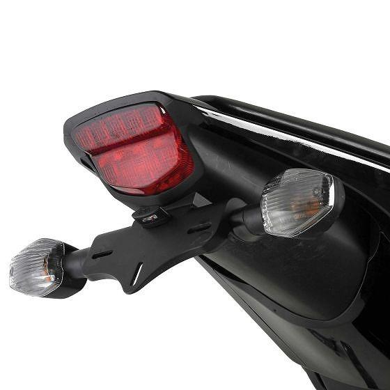 ☆【R&G】オートバイテールティディー/ライセンスプレートホルダー-LP0058BK