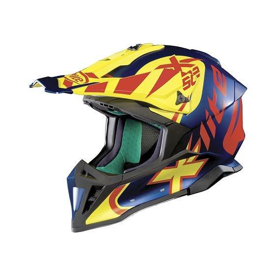 ☆【X-lite】X-502グラフィックモトクロスヘルメット