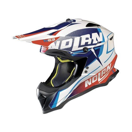 ☆【Nolan】N53グラフィックモトクロスヘルメット