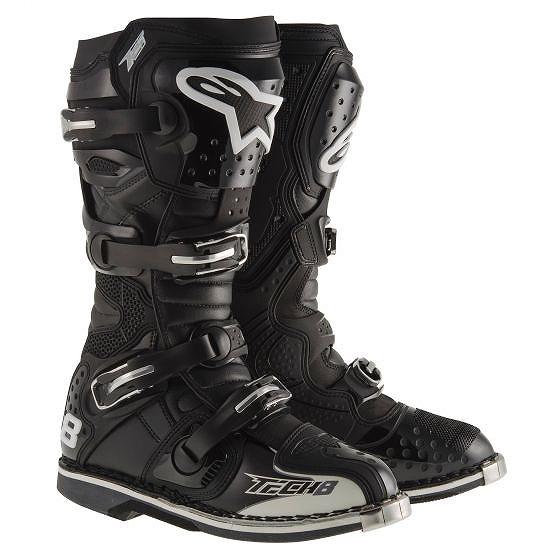 ☆【Alpinestars】Tech 8 RSモトクロスブーツ - ブラック