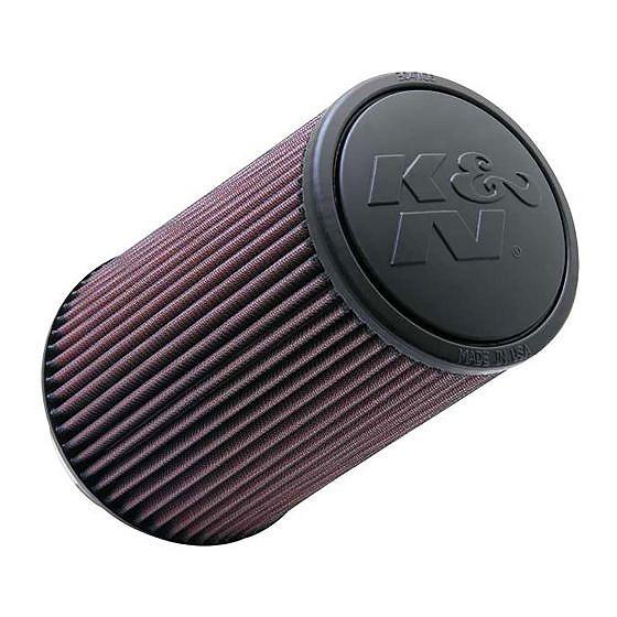 ☆【K&N】フィルターユニバーサルラウンドテーパードエアフィルター 102mm 121-152mm OD x 228mm L Rubber Centred