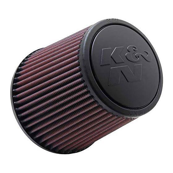 ☆【K&N】フィルターユニバーサルラウンドテーパードエアフィルター 76mm|117-152mm OD x 152mm L|Rubber|Centred