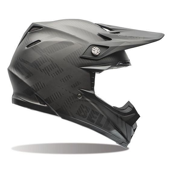 ☆【Bell】Moto-9 Carbon Flexモトクロスヘルメット - シンドロームマットブラック