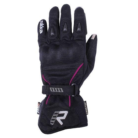 ☆【Rukka】スキレディースバイク用グローブ Black / Pink