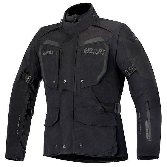 ☆【Alpinestars】ダーバンゴアテックステキスタイルオートバイジャケット 黒 / グレー | UK 42 / Eur 52