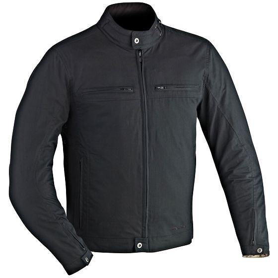 ☆【Ixon】ハーレムテキスタイルオートバイジャケット Black | Eur 46 / 92 cm