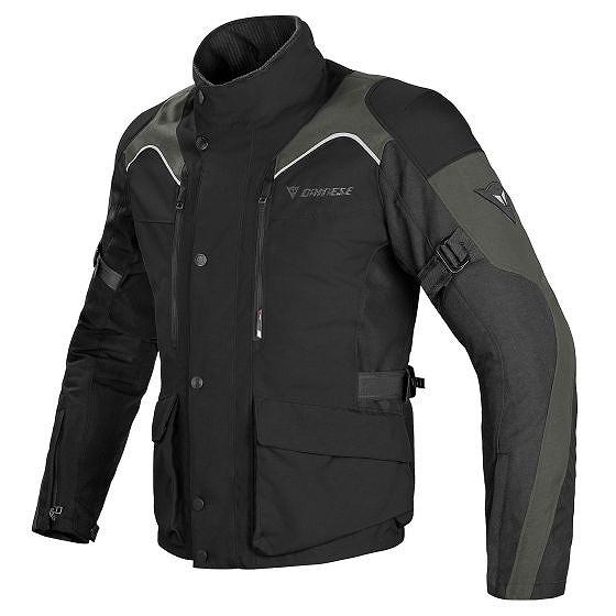 ☆【Dainese】テンペストD-ドライバイクジャケット Black / Black / Dark-Gull-Grey | UK 50 / Eur 60