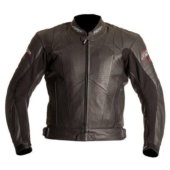 ☆【RST】ブレードレザーオートバイジャケット 黒   UK 38 / Eur 48