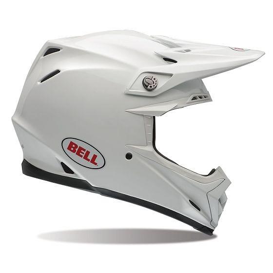 ☆【Bell】Moto-9 Carbon Flexモトクロスヘルメット - ホワイト