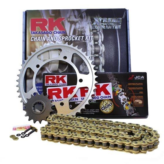 ☆【RK】エクストリームアップグレードチェーン&スプロケットキット-3605340XRK