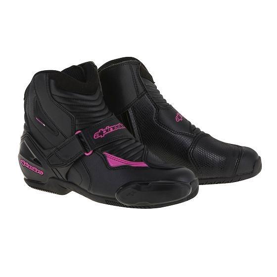 ☆【Alpinestars】ステラSMX 1-Rオートバイブーツ Black / Fuchsia