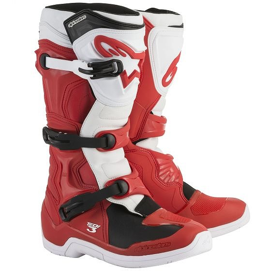 ☆【Alpinestars】Tech 3 Motocross Boot in Red / White