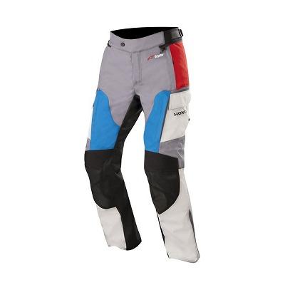 ☆【Alpinestars】Andes V2 Drystarテキスタイルオートバイパンツ グレー/レッド/ブルー