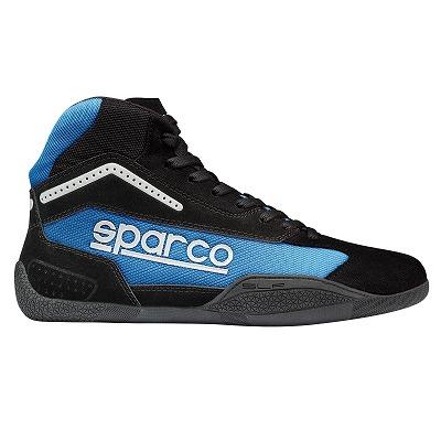 ☆【Sparco】ガンマKB-4 カート ブーツ ブラック/ライトブルー