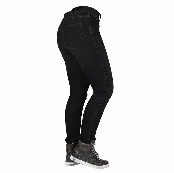 ☆【Bull-it Jeans】レディースタクティカルSP75 (AA) スリムモーターサイクルジーンズ Stone/Black
