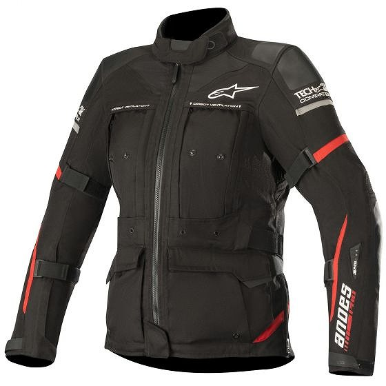 ☆【Alpinestars】Stella Andes Pro Drystarオートバイ用ジャケット - Tech-Air対応
