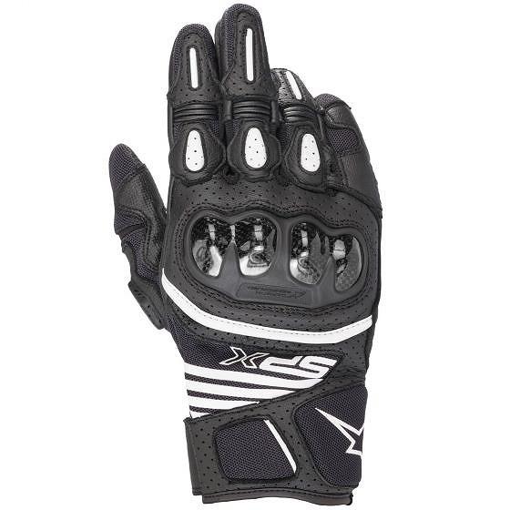 ☆【Alpinestars】SP X X Carbon Air Carbon ブラック V2レザーオートバイグローブ ブラック, ミキチョウ:272cc17c --- officewill.xsrv.jp