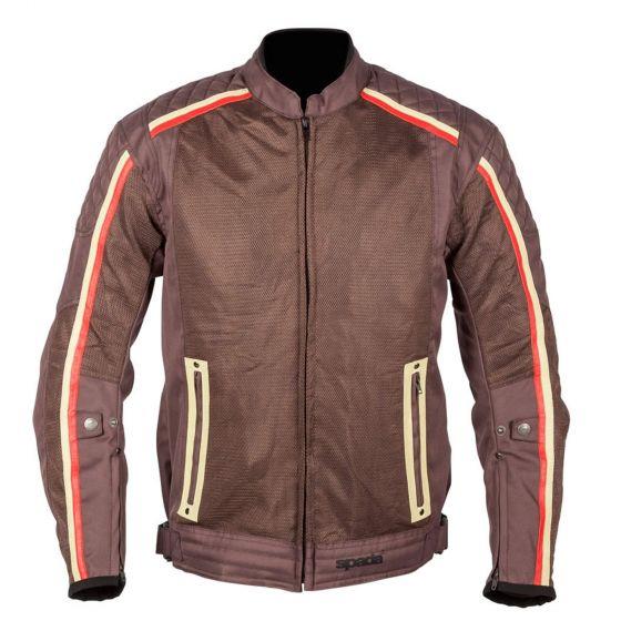 ☆【Spada】ユタ風テキスタイルオートバイのジャケット