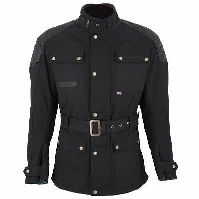 ☆【Spada】スタッフのメンズワックスオートバイのジャケット