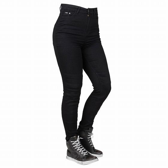 ☆【Bull-it Jeans】レディース フューリー II SP45 (A) スキニーバイク ジェギングス Black