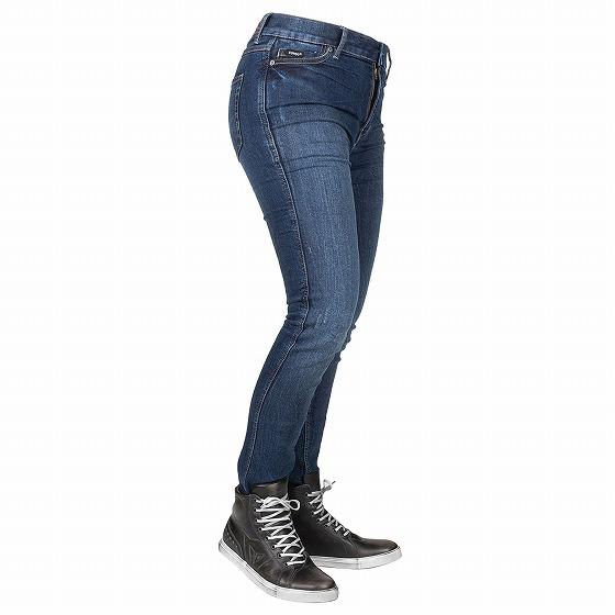 ☆【Bull-it Jeans】レディースタクティカルSP75 (AA) スリムモーターサイクルジーンズ Icona Blue