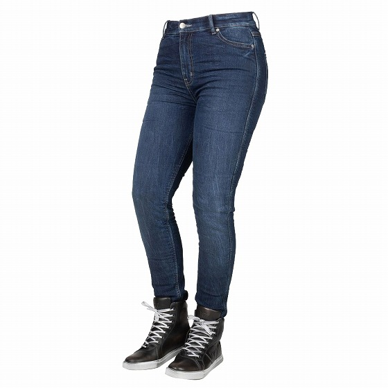 ☆【Bull-it Jeans】レディースタクティカルSP75 (AA) ストレートバイクジーンズ Icona Blue