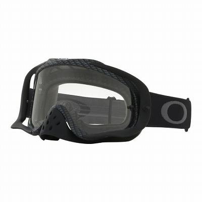 ☆【Oakley】クローバーMXゴーグル True Carbon Frame / Clear Lens
