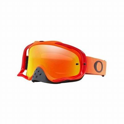 ☆【Oakley】クローバーMXゴーグル Red and Orange Frame/Fire Iridium Lens
